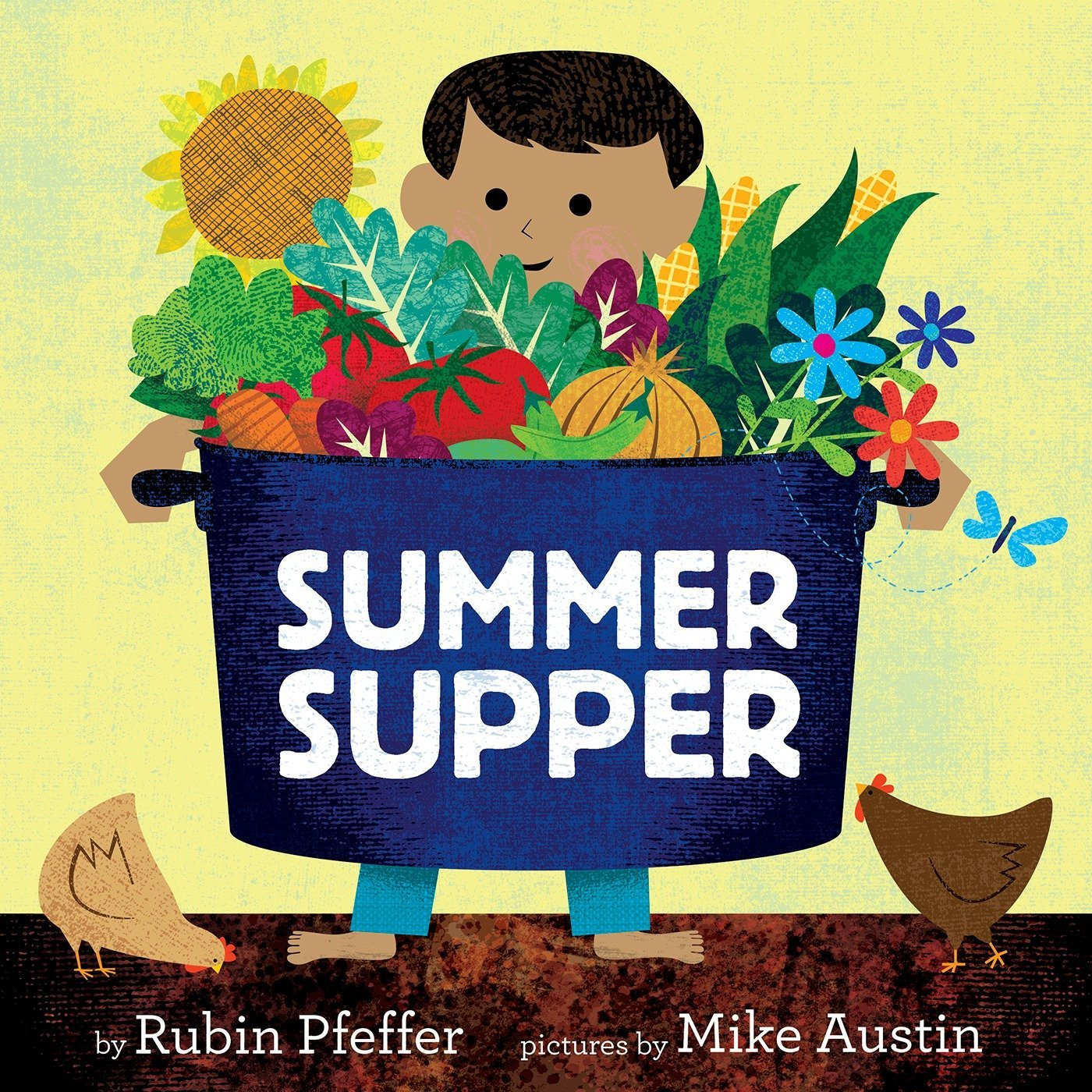 Front Cover of the Book Summer Supper by Rubin Pfeffer
