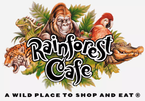 Rainforest Cafe logo SMALL